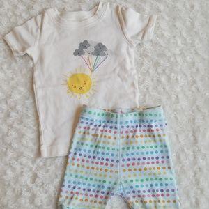 Old Navy pajama set 🌈